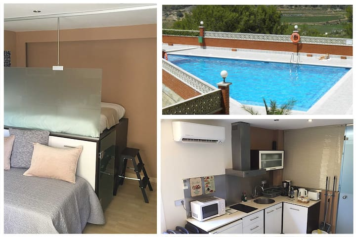 Sitges Studio - Sea - Pool and Nature - NEW - Sitges - Apartemen