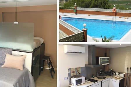 Studio Sitges - Mer - Piscine et Pinède. NEW - Sitges