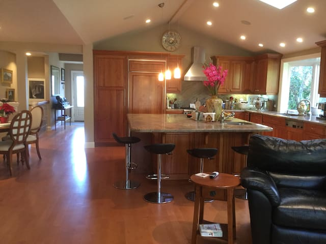 Larkspur Sunny View Home, SF/Wine country nearby