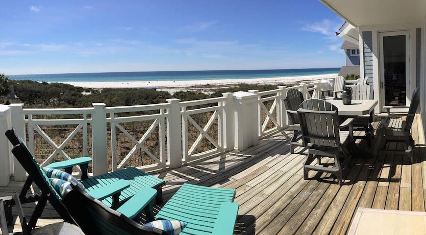 Watersound Beach Gulffront! Huge Balcony- 4 bikes!