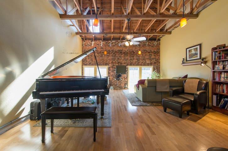 Spacious Art/Music Studio Loft - Oakland - Loft