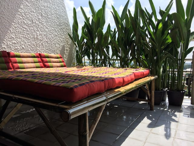 Chilling, relaxing, clean, comfortable,... - Bangkok - Apartment
