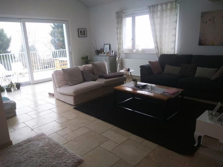 Chambre dans jolie villa en Campagne-près de Nyon