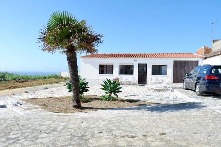 House next beach with ocean view