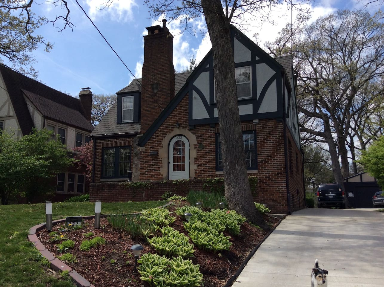Our English Tudor home close to downtown Des Moines.