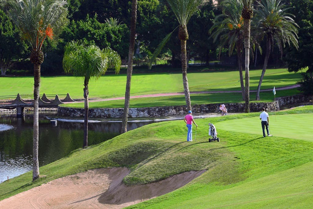 """Just 10 minutes walking, is the """"Golf Course of Torrequebrada"""" considered one of the best in Europe"""