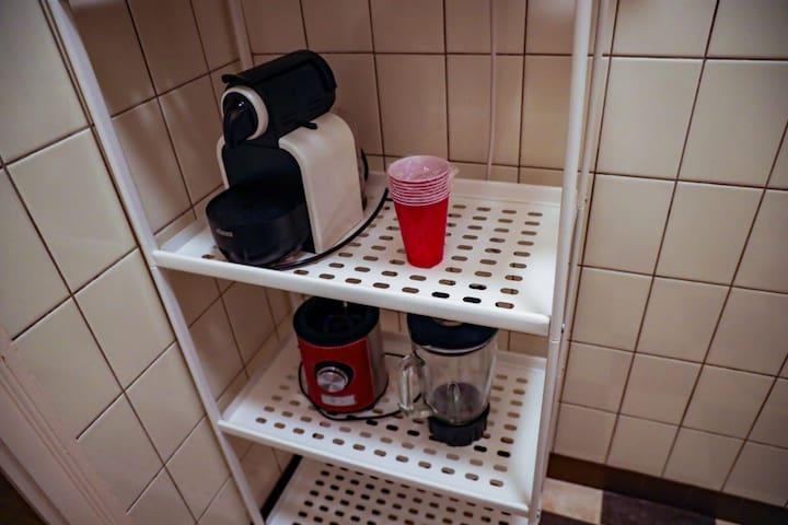 Machine à café avec capsules