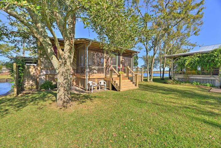 NEW! Belhaven Cottage w/ Pungo River Dock Access!