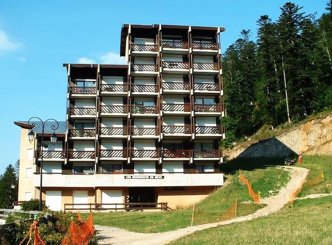 Appart. 2 pièces, 6 personnes avec grand balcon