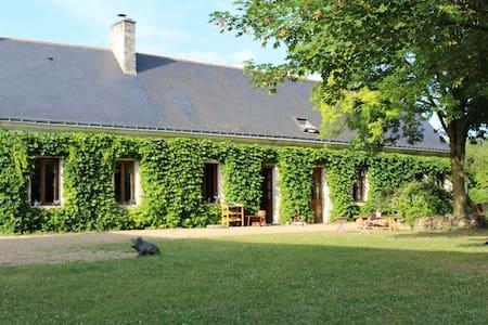 Gîte 6 p avec piscine proche Saumur - Ambillou-Château