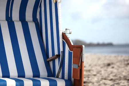 Traumwohnung am Ostseestrand inkl. Strandkorb - Kronsgaard