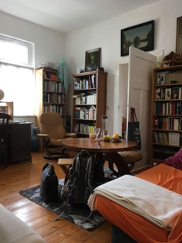 Charmantes Doppelzimmer | Altbau in Jena West - Jena - อพาร์ทเมนท์