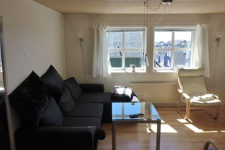 Værelse med god udsigt og alle faciliteter - Nuuk