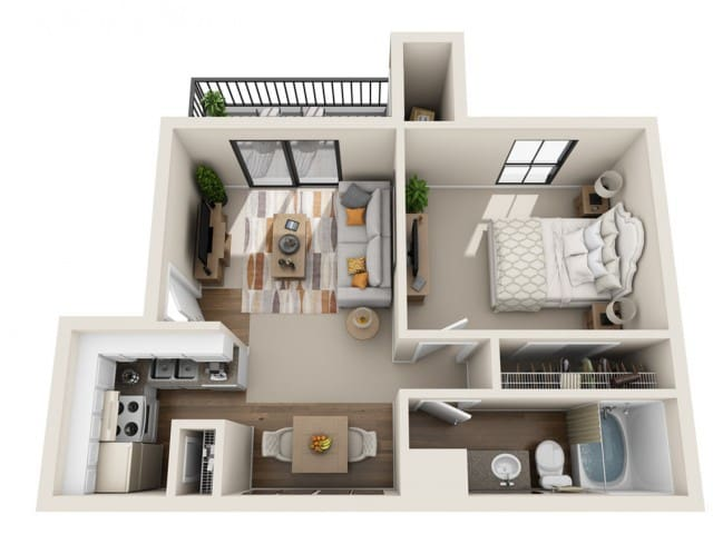 Near Airport Apartment Entire Space