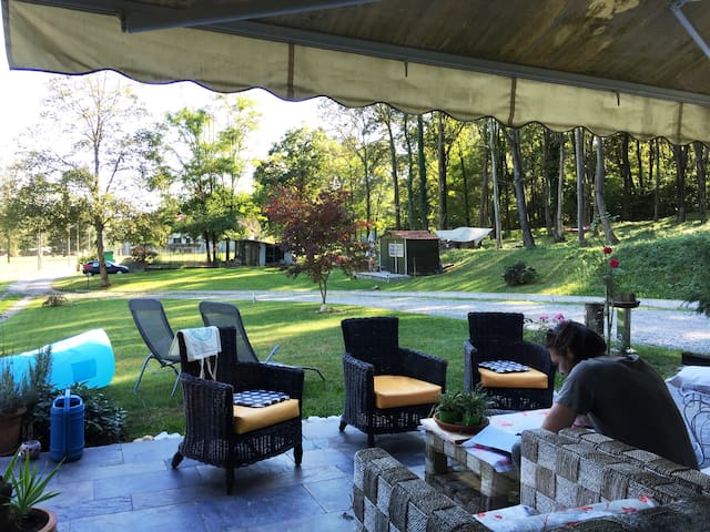 Cascina Pianazze/Peaceful and private getaway(中英意)