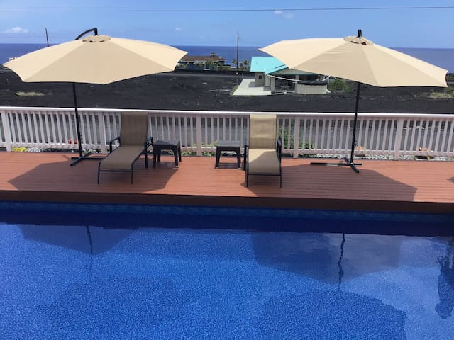 Beautiful Oceanfront View Home with Private Pool!!