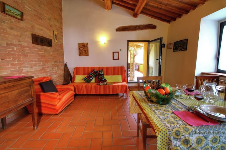 Flat Ligustro - Val d'Orcia - San Quirico - อพาร์ทเมนท์