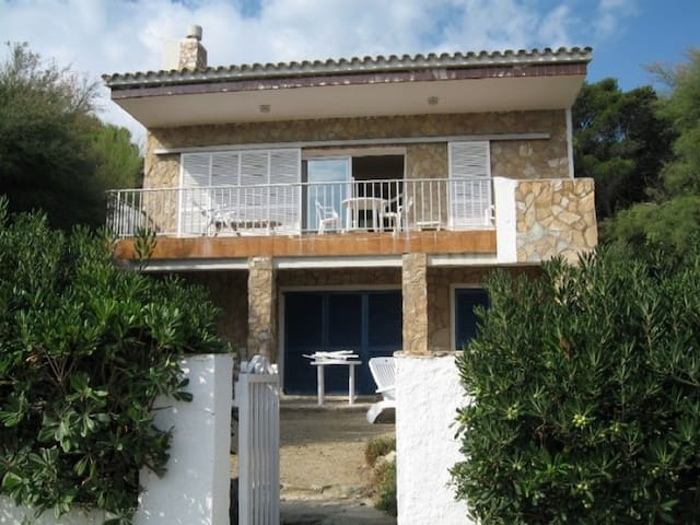 Ground-floor apartment for 4 persons in a villa with 2 apartments.
