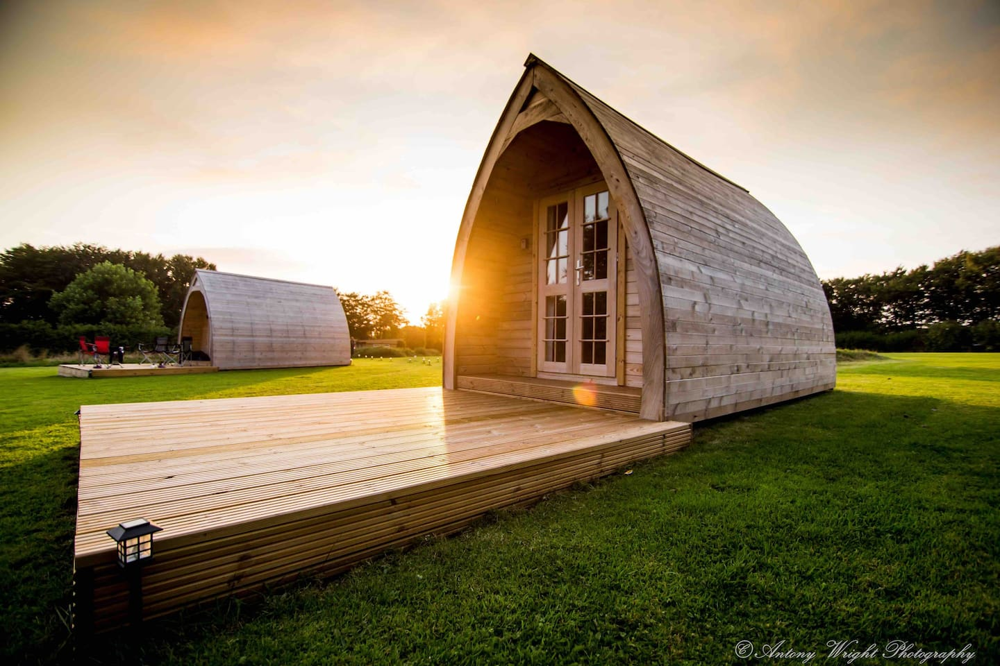 Sunset - Pickwick Glamping cabin/pod