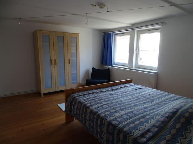Zimmer im schönen Fachwerkhaus in Messenähe