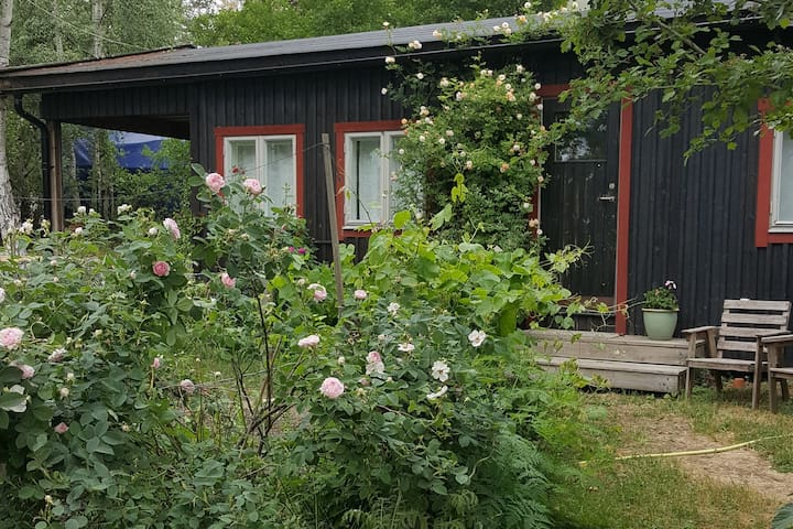 cottage close to stockholm city