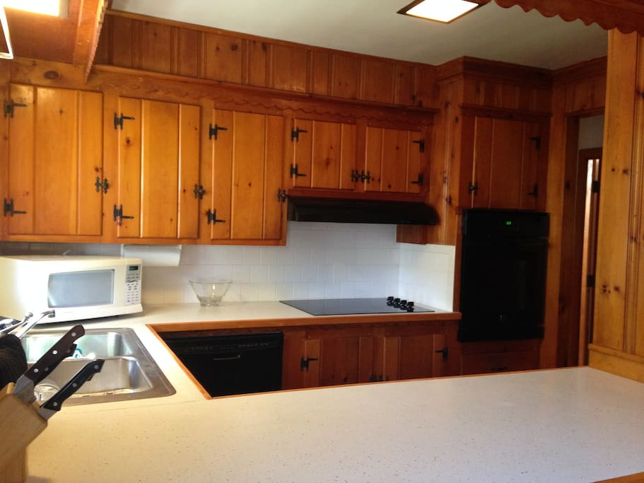 Complete private kitchen with appliances