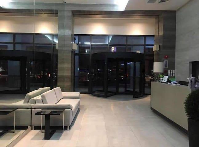 Lobby waiting area