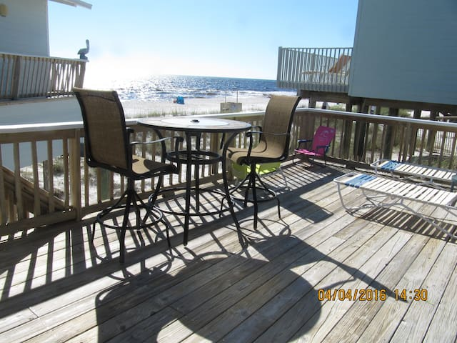 Beach front Cottage,  4817 Spyglass Dr. PC Bch, FL - Panama City - Maison