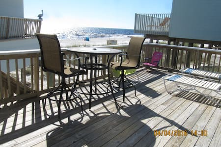 Beach front Cottage,  4817 Spyglass Dr. PC Bch, FL - Panama City - Casa