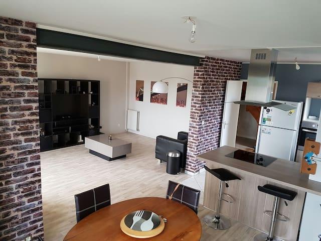 Maison 100 m2 au calme - Sotteville-Sous-le-Val