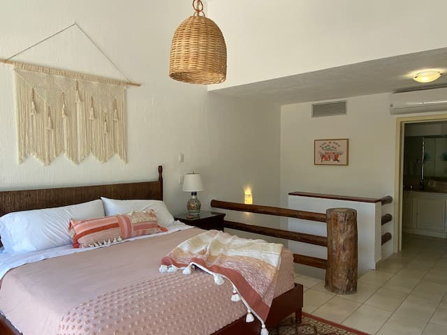 Master Suite features new King Size Bed Private bath and Spacious Balcony with Private Marina and Garden view. Perfect for sunning morning to mid afternoon.