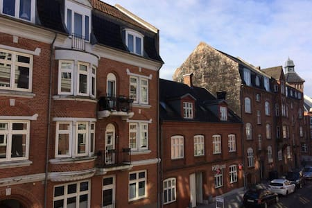 Spacious apartment in the center of Vejle - Vejle - 公寓
