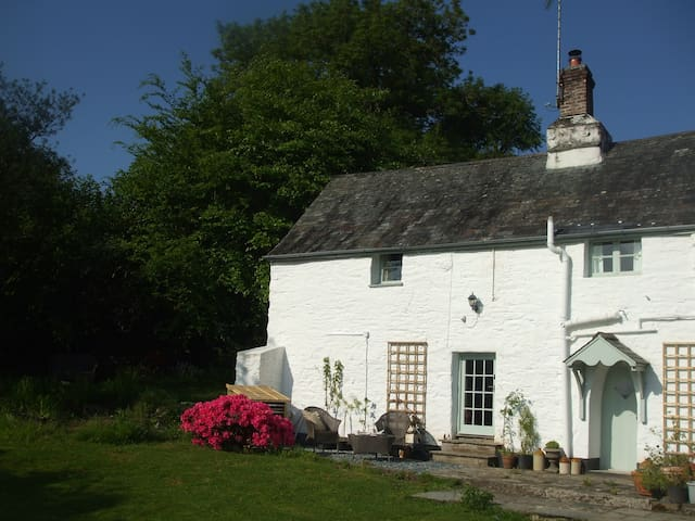 Romantic retreat with long views to Dartmoor - Tutwell - Huis