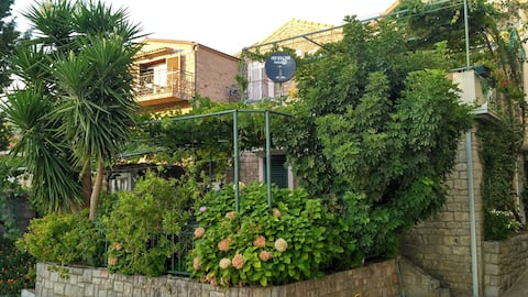 Apartment with beautiful terrace, 50m from sea