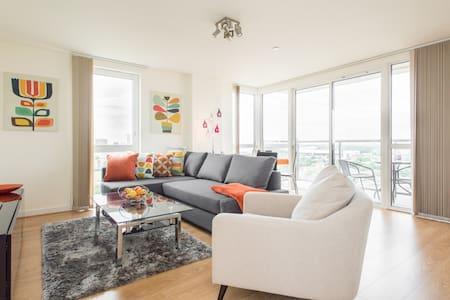 Great views, Canary Wharf apartment - London - Apartment
