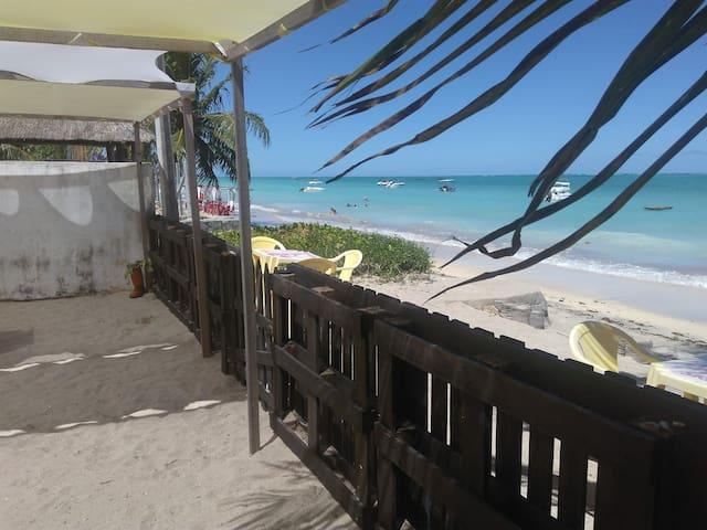 Suíte a beira-mar para até 4 pessoas