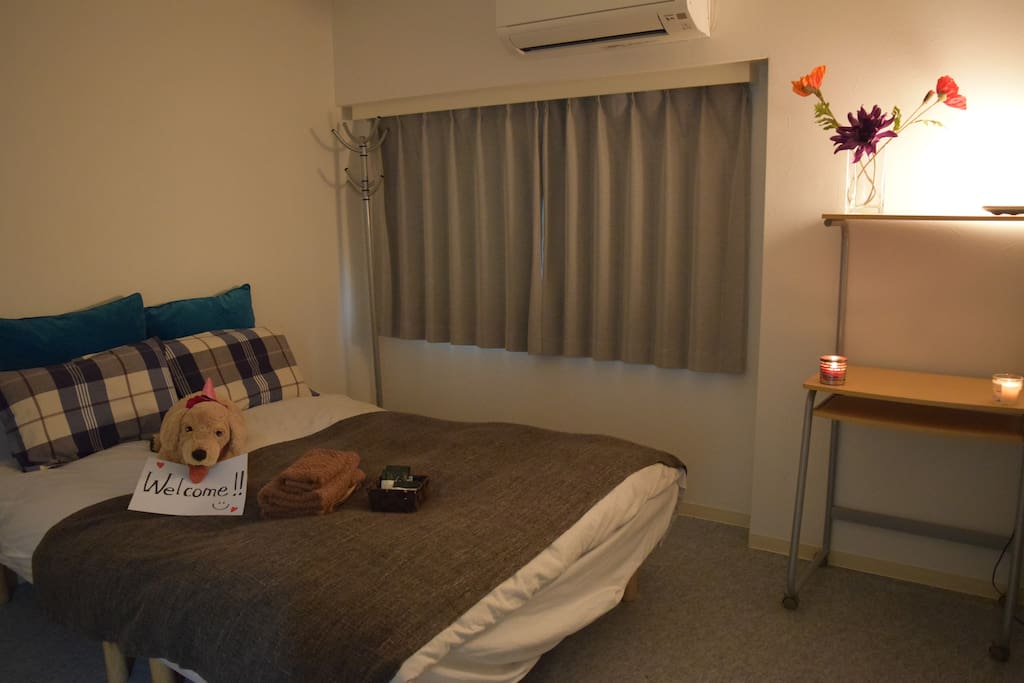 Very cute room! please take a relax time! 落ち着いた可愛い部屋です!ゆっくりお過ごし下さい。是镇定可爱的房间。请慢慢地过。