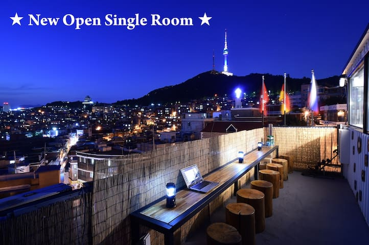 Single room! PhotoPark #104 on the 1st floor ★해방촌 - Yongsan-gu - Casa