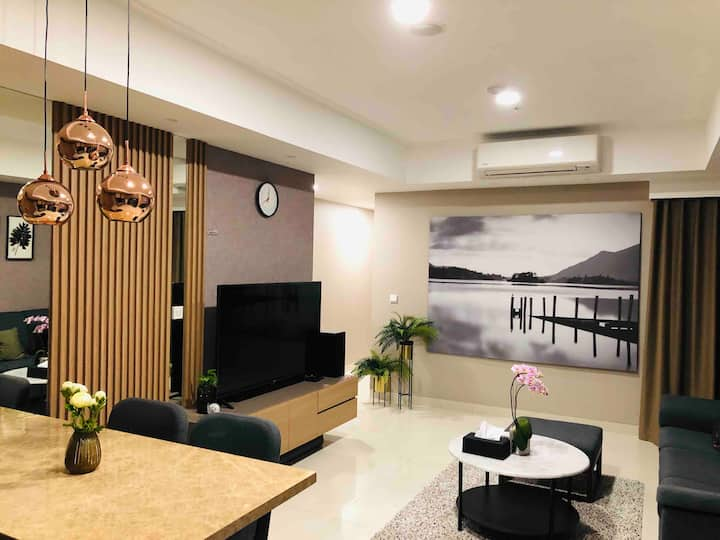 2br  New&Homelike Apartment The Mansion Kemayoran
