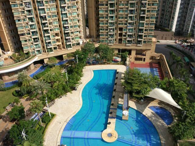 Seaside modern flat in Ma On Shan