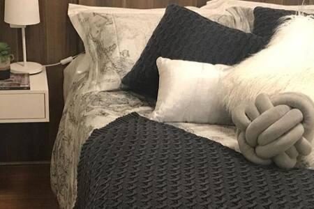 Um cantinho aconchegante à espera do seu descanso.