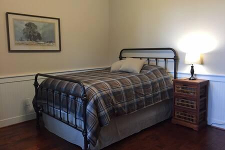 Carmine Farmhouse B&B: Downstairs Bedroom