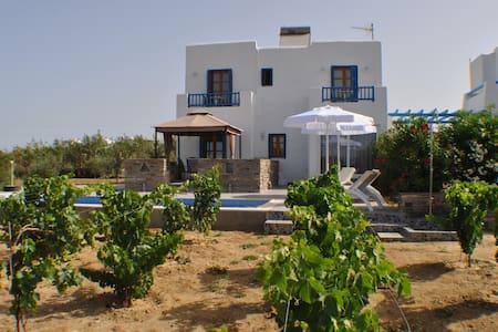 Ariadne house , Plaka Beach - Naxos - Villa