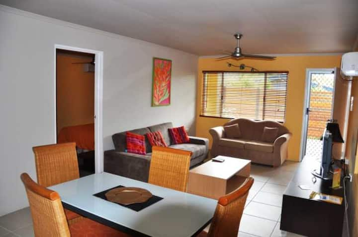 Apartment 2 mins to beach - Number 3 (2 bedrooms)