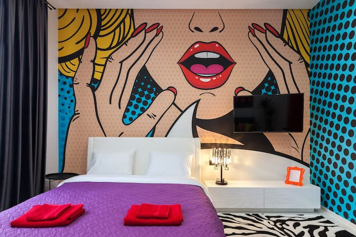 POP ART Apartment near Opera