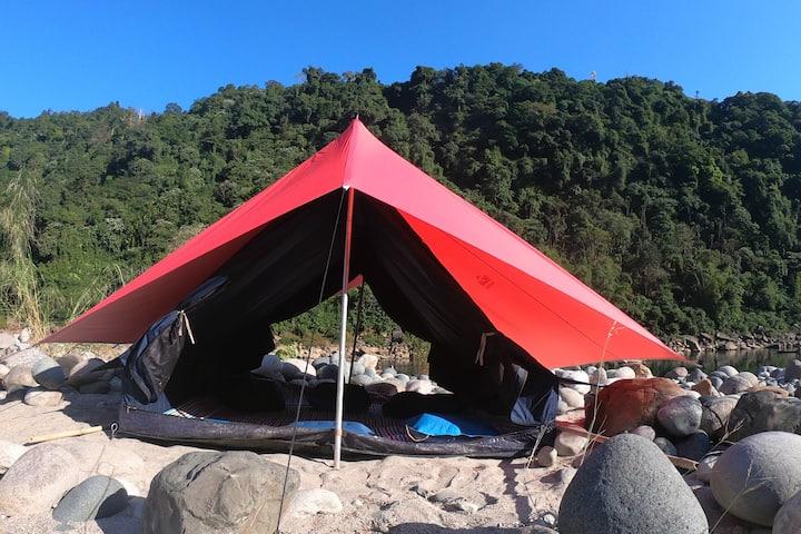 Encamp Adventures - River Umngot Camp