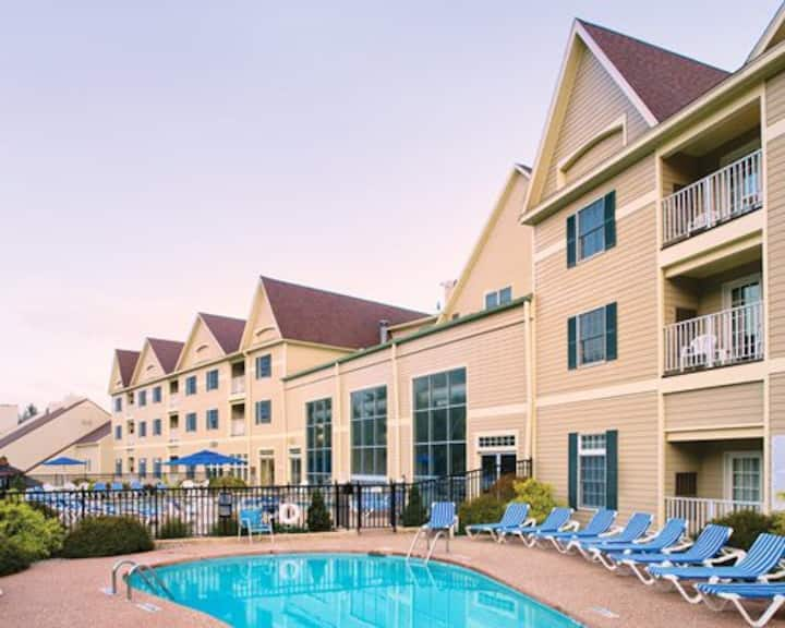 1BR/2B Club Wyndham Bentley Brook (up to 8 guests)