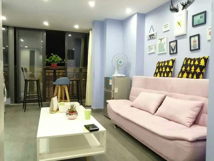 北欧现代风/天虹茉莉公寓/两居公寓
