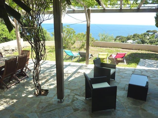 Miomo Cap Corse - Rez de villa avec vue sur la mer - Santa-Maria-di-Lota - House