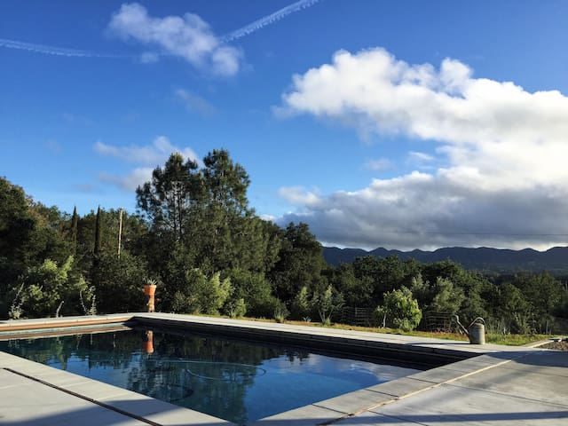 Mountain Sanctuary, Saltwater Pool - Santa Margarita - House